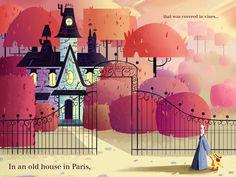 Madeline Illustration by Georden Whitman, via Behance