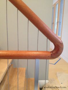 Completely custom vertical cable railing system. | Interior Design | Home Decor