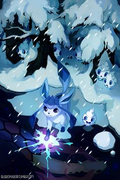 Ice type is my second favourite type! <3 (After Fairy)