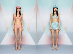 Missoni Beachwear 2013 collection featuring on Io Donna