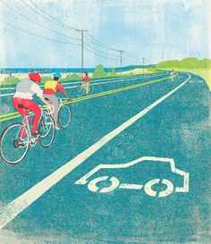 If cyclists ruled the world. One day...