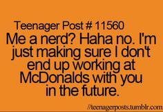 Nerd? I don't think so!