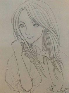 Amy's Beautiful Anime Girl #artwithus