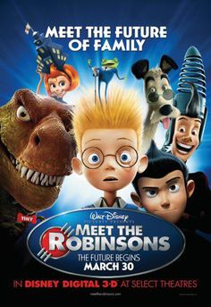 2007 Meet the Robinsons The Evolution of Walt Disney Movie Posters from 1937 to 2013 Images) Disney Films, Disney Pixar, Disney Cinema, Walt Disney Animated Movies, Animated Movie Posters, Disney Movie Posters, Old Disney Movies, Good Animated Movies, Disney Wiki