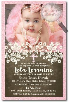 45 Best Christening Invitations Images Baptism Invitations