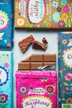 Choklad från Ekorrens ekologiska (Evelinas Ekologiska)