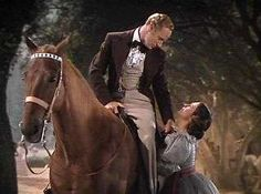 Anacacho Revel, an American Saddlebred used in the movie Gone With The Wind.