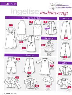 Modeloversigt_Ingelise 2007_12