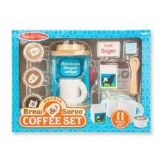 Wooden Brew & Serve Coffee Playset -