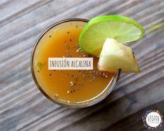 Infusión alcalina de jengibre y limón — VEGAN EXPEDITION