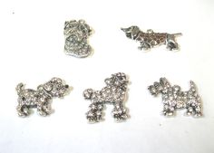 Canine Crystal Charms. Contact us for details or to order at alice@atgtexas.com