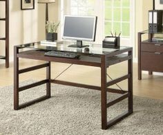 Acme Furniture Loakim 3 PC Home Office Set with Computer Desk + File Cabinet + Bookcase in Wenge Finish Home Office Desks, Furniture Near Me, Furniture For Small Spaces, Furniture, Acme Furniture, Small Home Office Furniture, Office Furniture Sets, Desk Furniture, Office Furniture Design