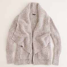 Crew Bonfire Cardigan long drape-y sweater, any neutral color(idea) Fall Winter Outfits, Autumn Winter Fashion, Sweater Weather, Comfy Sweater, Sweater Cardigan, Look Fashion, Womens Fashion, Sweaters For Women, Men's Sweaters