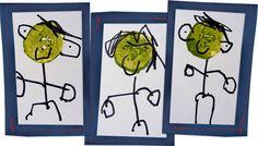 Keeping Life Creative potato stamping Potato Stamp, Potato Print, Stamping, Crafts For Kids, Potatoes, Creative, Fun, Life, Crafts For Children