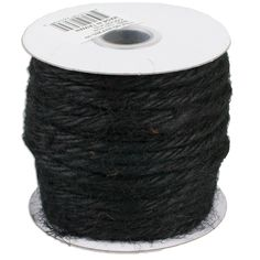 Black is associated with elegance and mystery and our 25 yard black jute twine should achieve that desired effect. Jute Twine, Tissue Holders, Biodegradable Products, Burlap, Furniture Ideas, Yards, Mystery, Wedding Ideas, Accessories