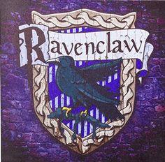 Ravenclaw Wandbild geschenkidee #geschenk #gift #idea #harry #potter #harrypotter #books