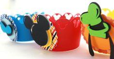 Saia para Cupcake Turma do Mickey                                                                                                                                                      Mais