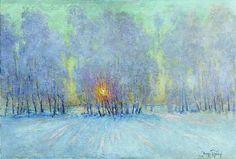 Igor Grabar Hoarfrost. Sunrise. 1941