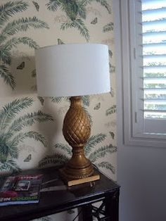 Pineapple lamp!!