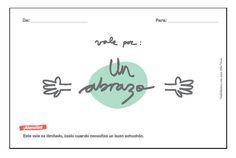 FREEBIE Vale por un abrazo - Vadeláminas - Diseño gráfico y láminas decorativas