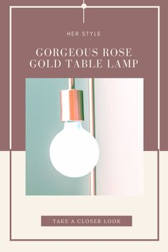 Take a look at our recommended rose gold table lamp. Rose Gold Lamp, Rose Gold Table, Rose Gold Decor, Rose Gold Bedroom Accessories, Small Desk Lamp, Gold Desk, Table Lamps For Bedroom, Simple Rose, Lantern Lamp