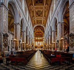 San Gennaro Cathedral , Naples Italy There are so many churches,,,so little time.