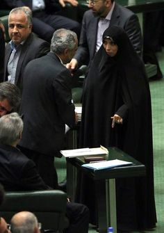 Iran's new President Hassan Rohani has appointed a woman, Elham Aminzadeh, as his vice president for legal affairs. Aminzadeh is a former member of parliament who teaches at the Allameh Tabatabaei University in Tehran. Read more via Bloomberg News: http://www.bloomberg.com/news/2013-08-13/iran-s-rohani-picks-female-vp-after-pledge-to-back-iranian-women.html