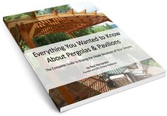 Amazing English Garden Landscaping Ideas Outdoor Pavilion Kits Handcrafted from Redwood Timber Pergola, Garage Pergola, Modern Pergola, Pergola Plans, Pergola Kits, Pergola Ideas, Landscaping Ideas, Garden Landscaping, Backyard Pavilion