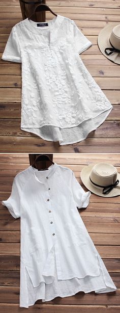 Up To 57% OFF! Vintage Casual White &Floral Blouses On Newchic Make You A Perfect Look Everyday. <Plus Size&Many Styles Options&Big Deals&Worldwide Shipping> Shop Now!