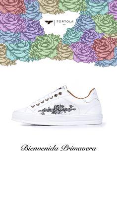 En TÓRTOLA le damos la bienvenida a la Primavera! #tortola #tortola1947 #zapatillastortola #tortolazapatillas #sneakerstortola #tortolasneakers #sneakers #zapatillas #shoes #calzado #footwear #walklikeus #madeinSpain #primavera #spring #flower #rosa