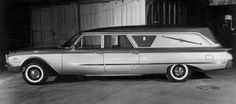 Silver Spirit - `6O Ford Hearse