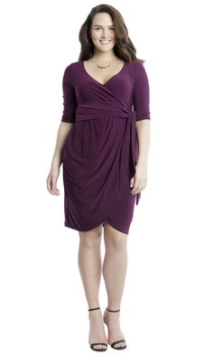 If you know you're going to be photographed (obviously, you're going to post pics on Facebook and Instagram), wear something that skims the body and really compliments your curves. Try a wrap dress to hug your curves in all the right places!