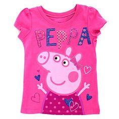 Peppa Pig Toddler Short Sleeve Tee (3T, Pink Peppa Hearts... https://www.amazon.com/dp/B0193O1TK8/ref=cm_sw_r_pi_dp_Kx6Hxb7YSBTEV