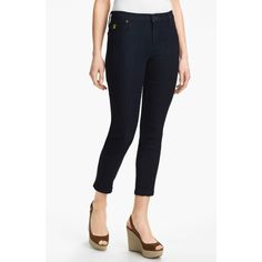 $110.00 Second Yoga Jeans Ankle Jeans Classic Blue Size 34