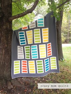 ladder leap quilt in Konas | crazy mom quilts