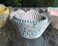 frozen theme with doilies - Google Search