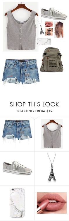 """Untitled #475"" by candydreamsxoxo ❤ liked on Polyvore featuring T By Alexander Wang, Keds, Bling Jewelry and russell+hazel"