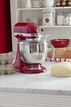 Summer's almost here, which means one thing: It's party time! Get that menu in shape with KitchenAid's handy stand mixer