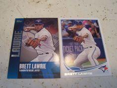 Brett Lawrie 2013 Topps Series 1 Lot Chasing The Dream Insert Base Card Laurie Brett, Toronto Blue Jays, Baseball Cards, Sports, Ebay, Hs Sports, Sport