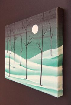 Image result for Canvas Painting Ideas for Beginners #canvaspaintingbeginner