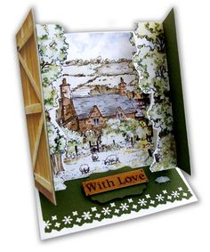 Behind Closed Doors Pop Up Cards