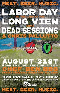 The Long View Lodge Labor Day Event Poster, 2019 Long Lake, Social Media, Studio, Day, Poster, Design, Berries, Studios, Social Networks
