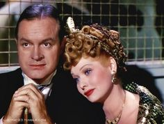 Bob Hope and Lucille Ball.