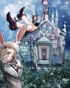 ✯ Rabbit's House :: Artist Odessa Sawyer ✯