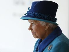 The Queen in Manchester 14 Nov 2013...wearing the Jardine Star
