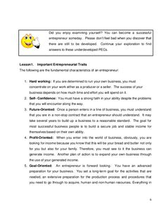 K-12 Module in TLE - ICT Grade 9 [All Gradings] Characteristics Of An Entrepreneur, Information And Communications Technology, Work Hard, Finding Yourself, How To Become, Pdf, Success, Teaching, Education