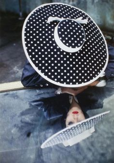 YSL Hat, 1984Photographer: David Seidner