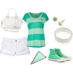 """Totally Teal"" by gracie-i on Polyvore"