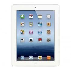 APPLE iPad con pantalla Retina - 4ª generación - WiFi - 16 GB - blanco - NUEVO + Funda de cuero Smart Cover - Negro - UKA Digital