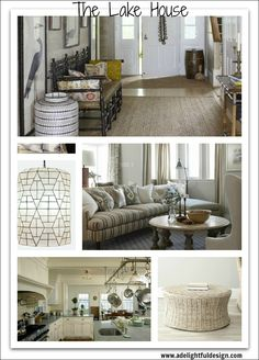 A Delightful Design, Lake House collage